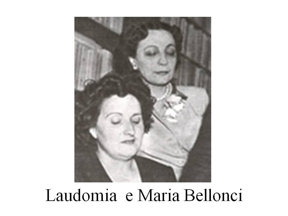 MARIA BELLONCI CON LAUDOMIA BONANNI